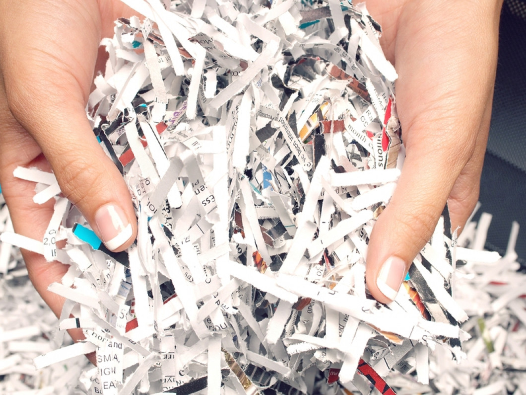 Stop clogging your personal paper shredder